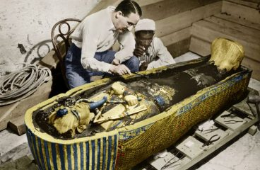 KING TUT'S TOMB DISCOVERY 195 YEARS AGO