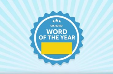 WHAT IS OXFORD WORD OF THE YEAR 2018?